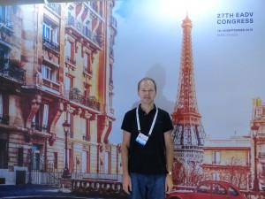 XXVII Конгресс Европейской Академии Дерматологии и Венерологии EADV в Париже (Франция), сентябрь 2018 г.